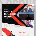 Dr. Ed Osburn Website Design